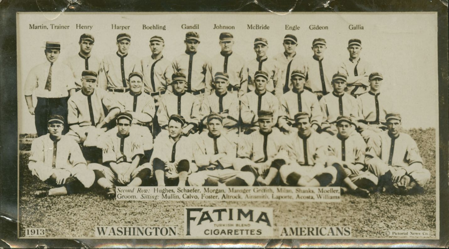 1913 Fatima Cigarettes Washington